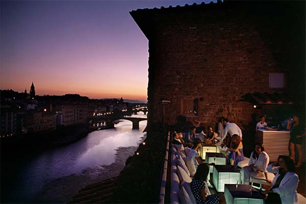 La Terrazza Florence rooftop bar  Florence City Guide