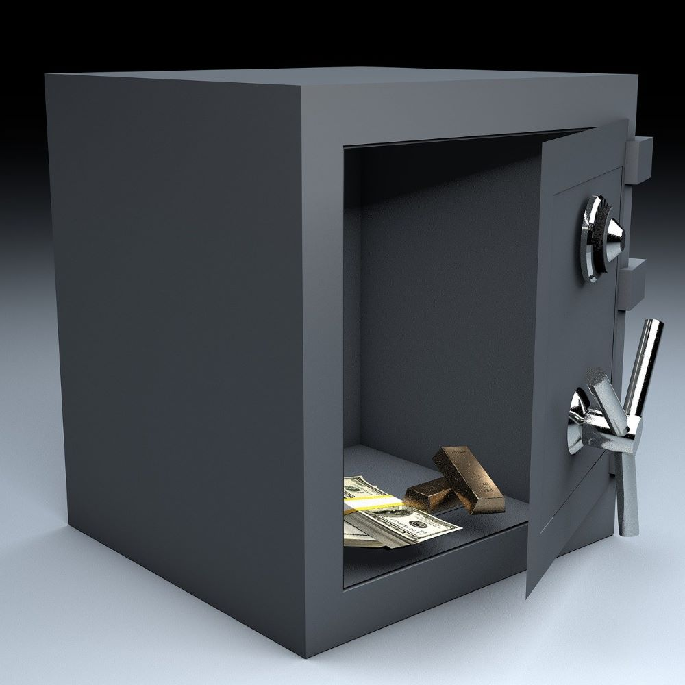 open a safe without a key