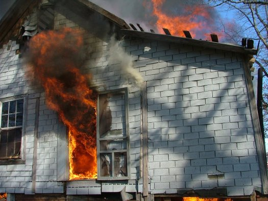 An installed alarm system can prevent house fires
