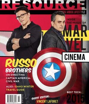Omslag på Filmregissörerna bröderna Russo