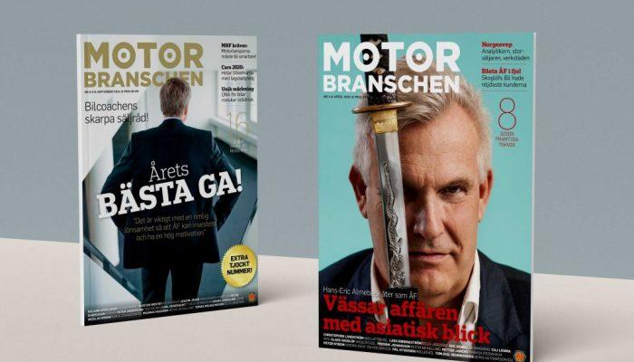 Tidningen Motorbranschen