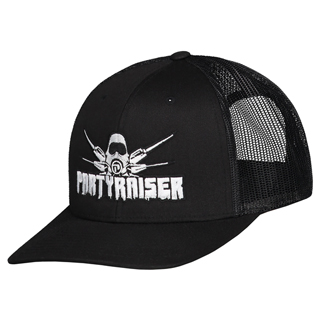 your merchandise partyraiser trucker cap
