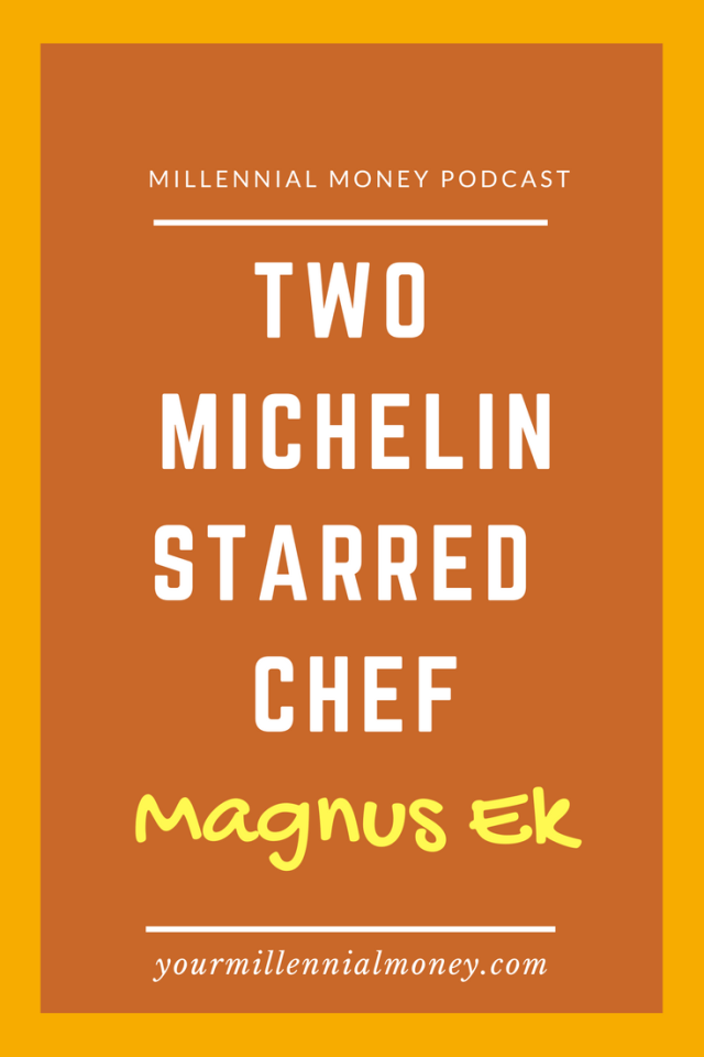 Two Michelin Starred Chef Magnus Ek