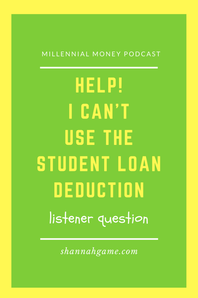 It's a catch 22 when you start making a good living - you love the extra income, but you don't like the extra taxes and losing out on your student loan deduction. Let's talk tips to help you save more money.
