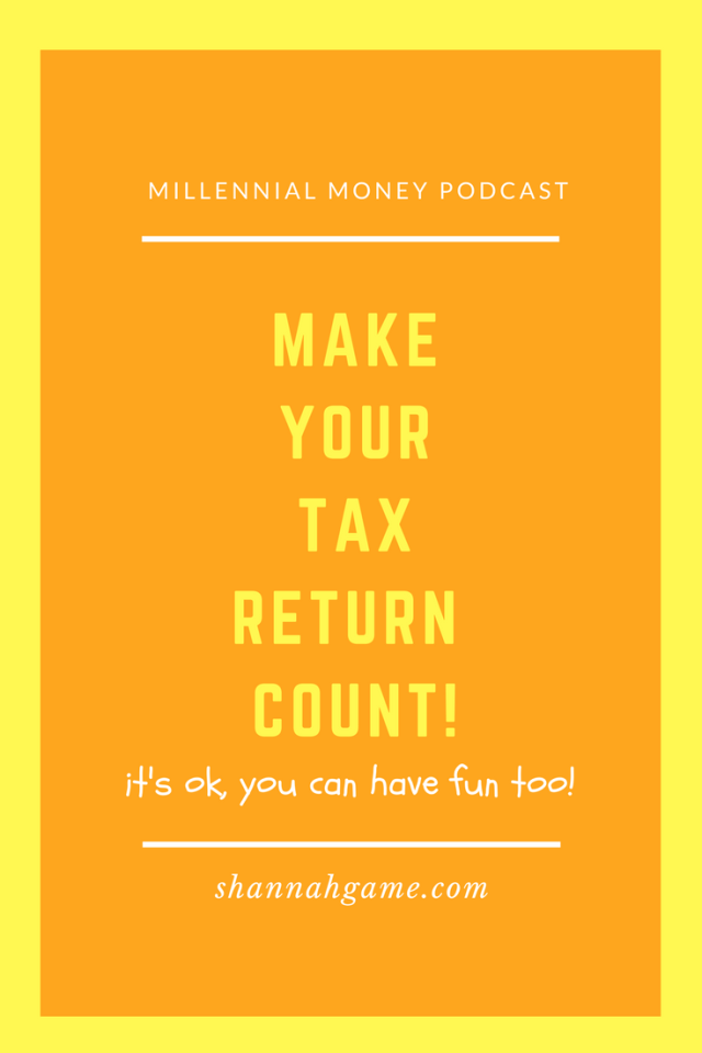There's always the question of what to do with your tax return. I give you permission to have fun with a portion of it but the rest, that should be saved for a smart money move.
