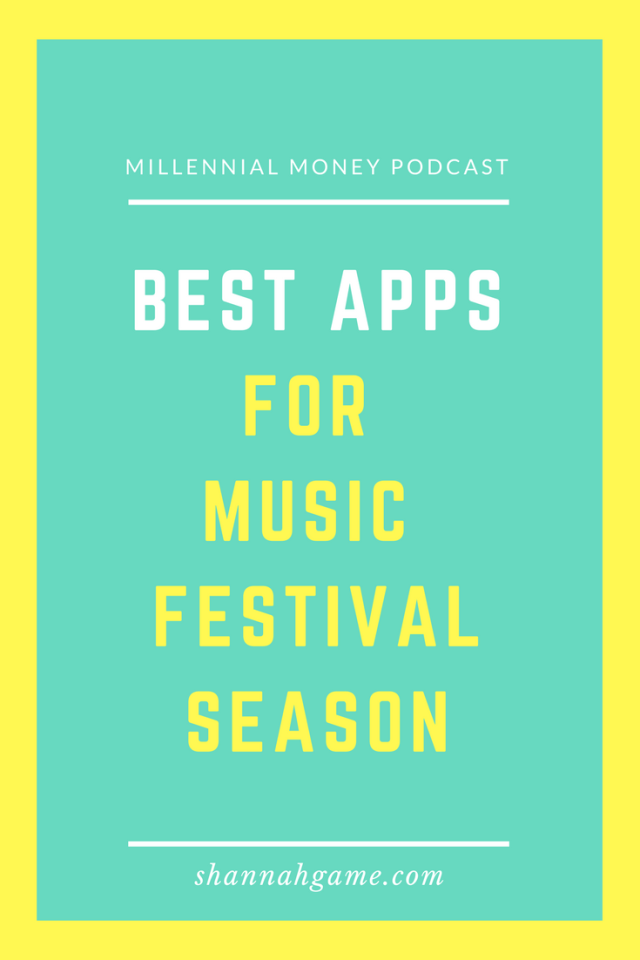 If you're going to hit the music festival scene this year you're going to need a few apps to help save you time, money and energy.