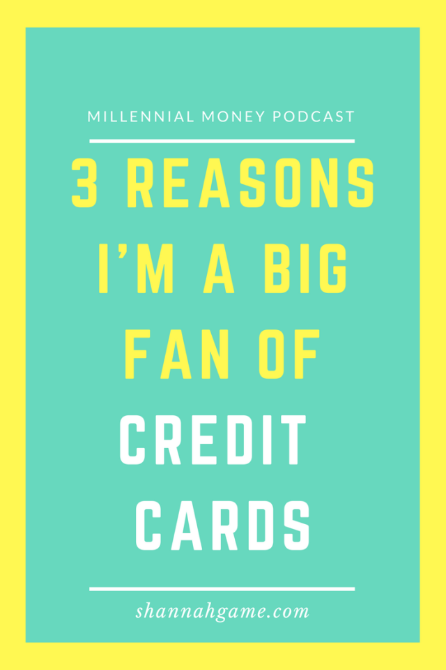 I'm a big fan of credit cards because if you use them right, you can score all sorts of points that equal real dollars in your pocket. Find out the three reasons why I love credit cards and how you can use them for all the benefits without the negatives.
