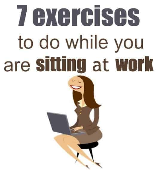 sitting down chair exercises steel price in kerala 7 while at work or home