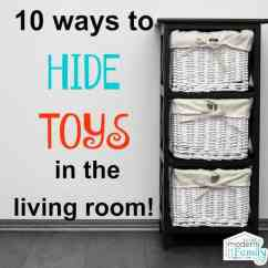 Storage For Living Room Drink Holders Toy Ideas Hide Toys In The