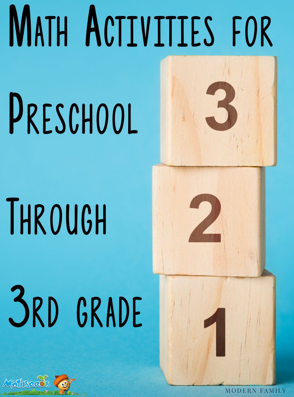 hight resolution of Math Activities for Preschoolers Through 3rd Graders (they'll love these!)
