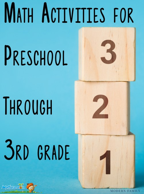 small resolution of Math Activities for Preschoolers Through 3rd Graders (they'll love these!)