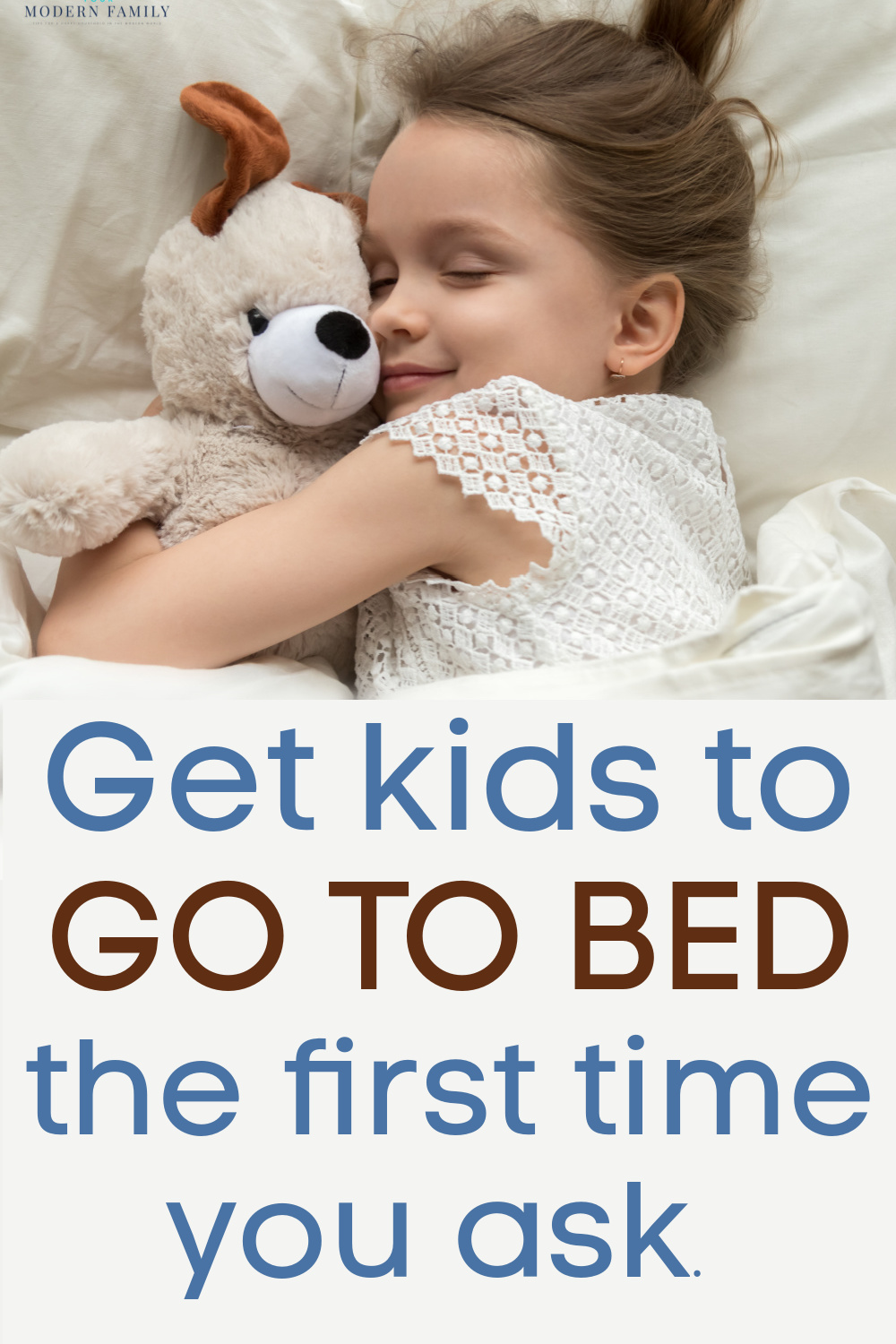 kids go to bed