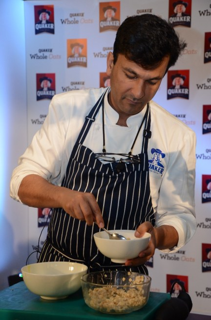 Quaker Oats Launch Session – A Masterclass With Michelin Chef Vikas Khanna