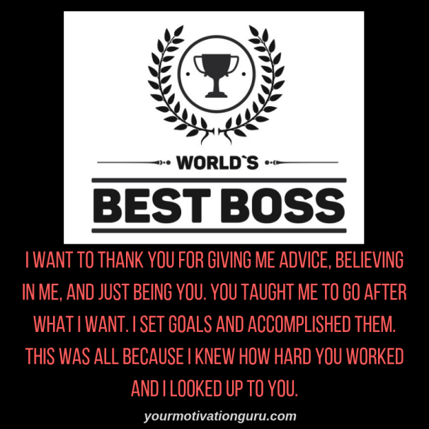Best Boss Quotes Top 10 Best Boss Appreciation Quotes and Thank You Messages For Boss Best Boss Quotes