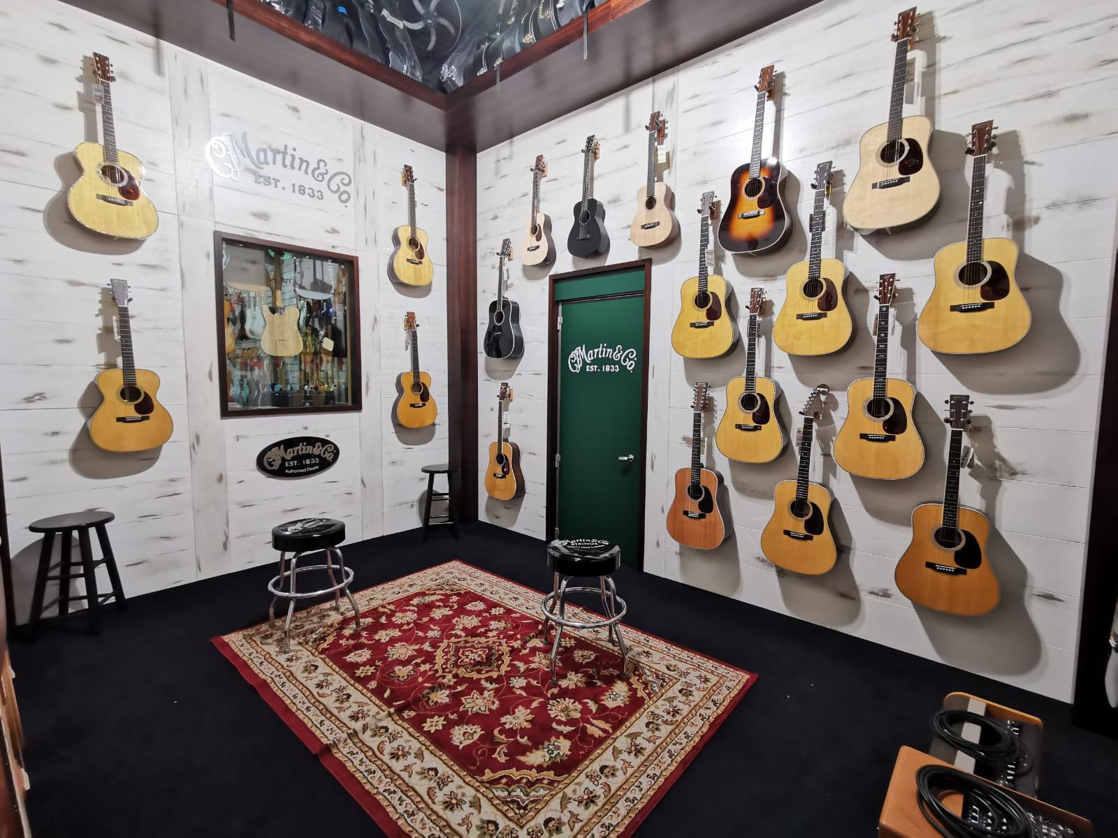 Martin Guitars Room a Roma
