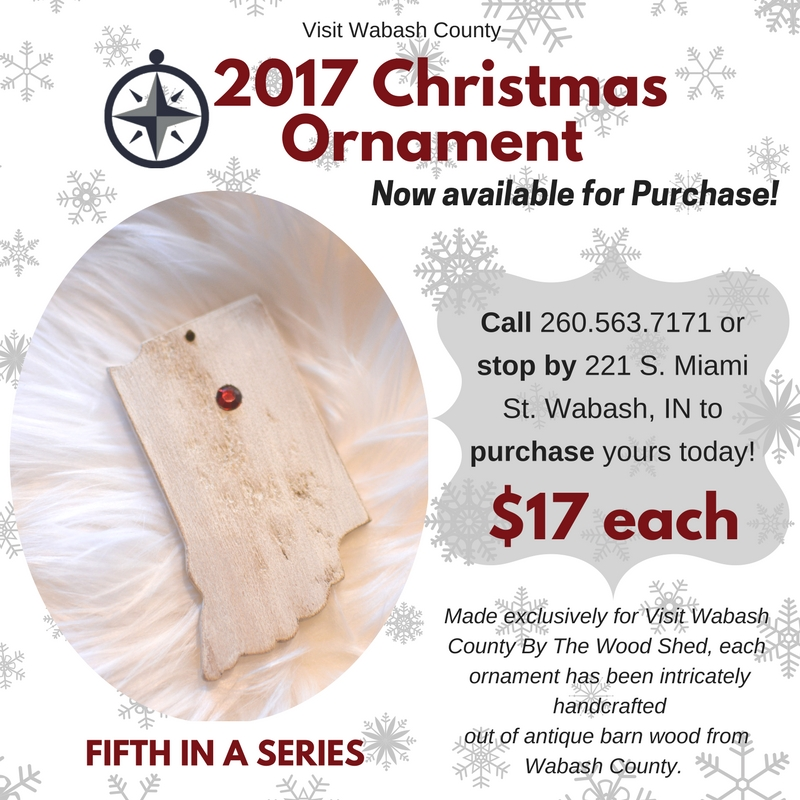 Your News Local Visit Wabash County S 2017 Ornament Is