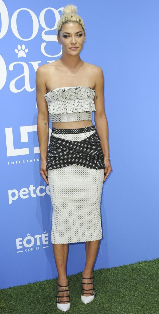 Jessica Szohr steps out for the premiere of Dog Days at the Westfield Century City Theater in Century City, California, on August 5, 2018