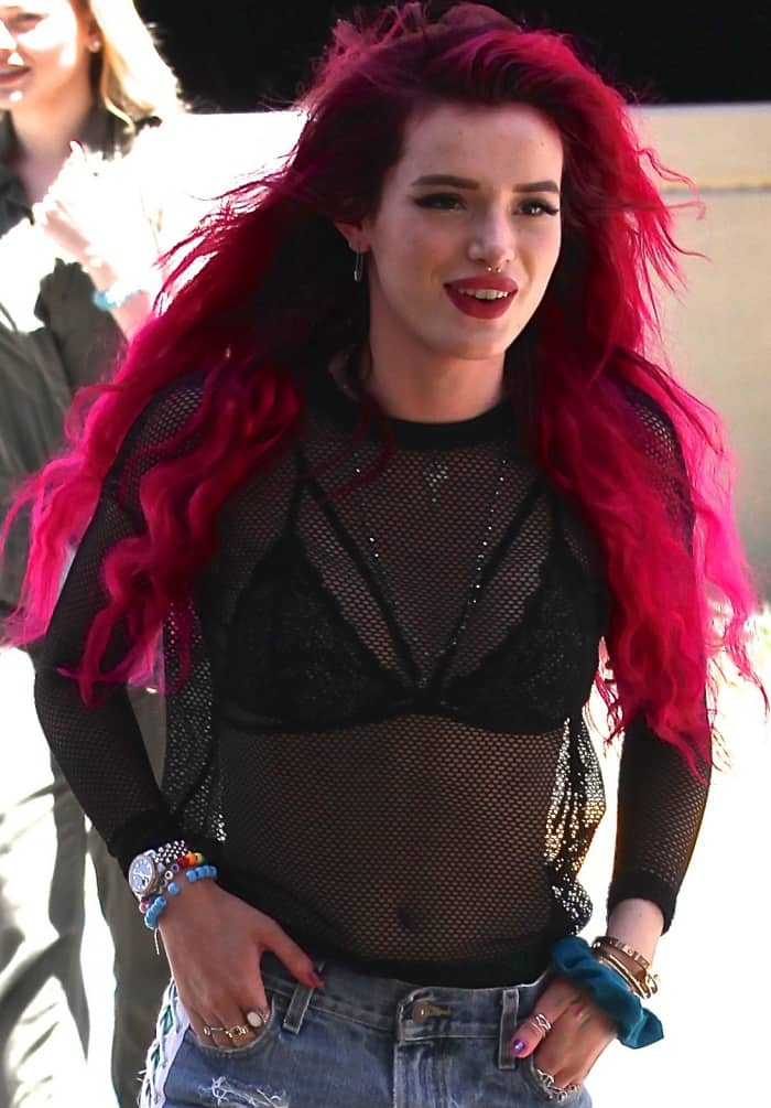 Bella Thorne Rocks Converse Chuck Taylor All Star High Tops