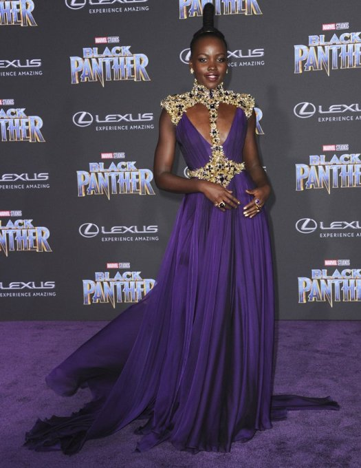 Lupita Nyong'o accessorized with Beladora jewelry