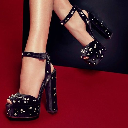 GIUSEPPE ZANOTTI DESIGN Dazzling Betty platform sandals
