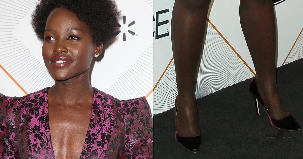 Lupita Nyongo Without Boyfriend at Essence Black Women