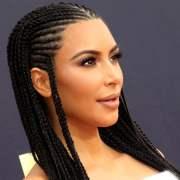 kim kardashian's braids slammed