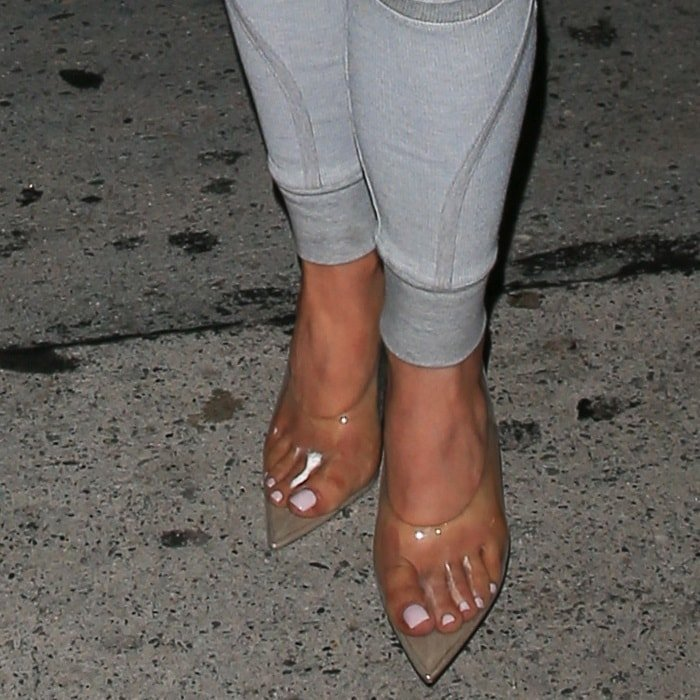 Kylie Jenner Yeezy Shoes
