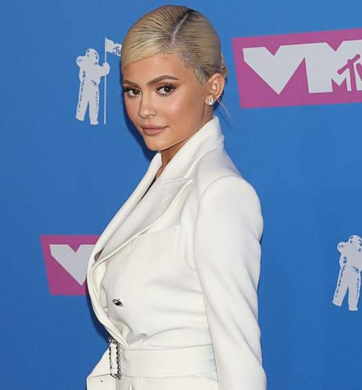 Kylie Jenner surprised everyone by looking very cute at the 2018 MTV Video Music Awards held at Radio City Music Hall in New York City on August 20, 2018