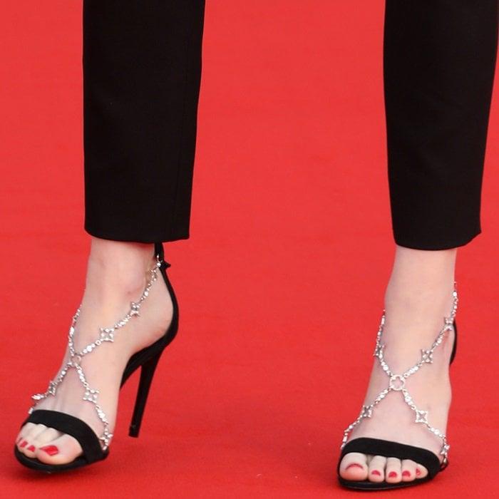 Bird Tattoo Emma Stone Feet