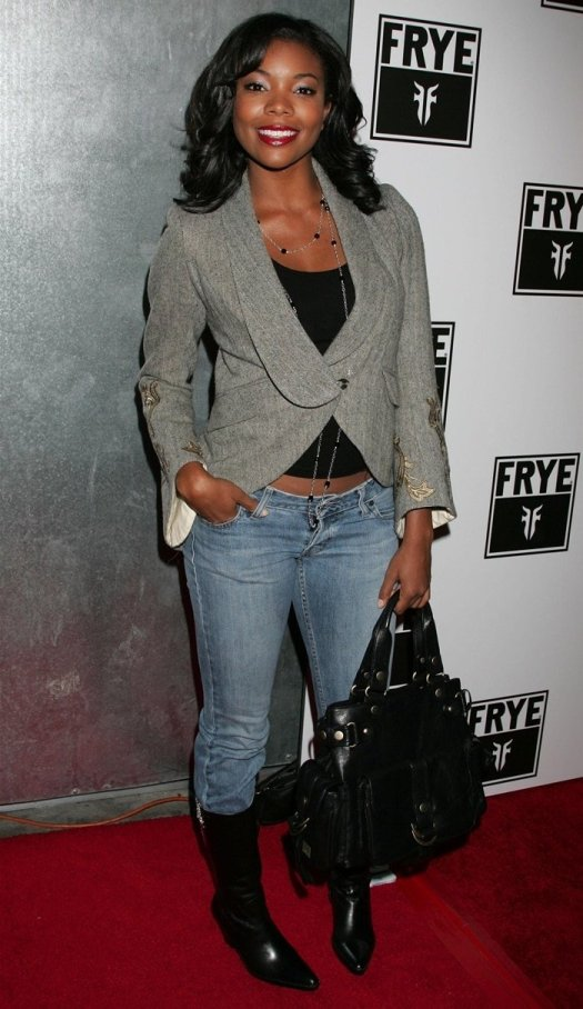 Actress Gabrielle Union arrives for the LA Fashion Week Party hosted by Frye Boots