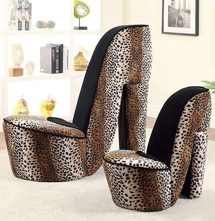high heel shoe furniture chair garden covers from argos chairs latest home trend for the obsessed