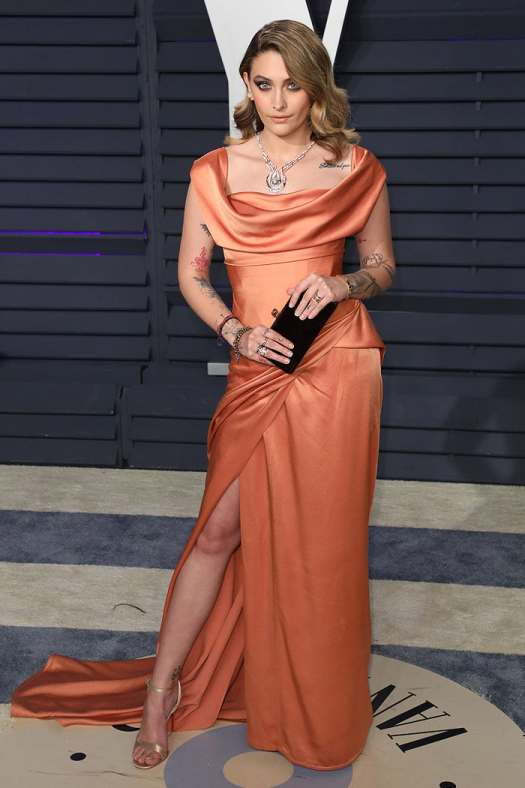 Paris Jackson at the 2019 Vanity Fair Oscar Party at the Wallis Annenberg Center for the Performing Arts in Beverly Hills, California, on February 24, 2019