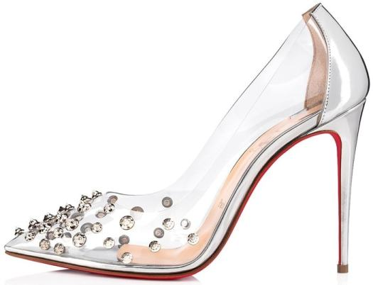 743c8f0f9cc Collaclou Pumps With Signature Studs: Louboutin's '60s Homage ...