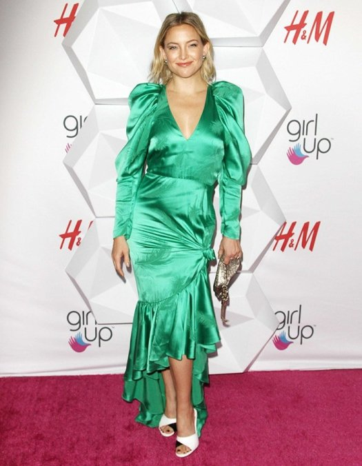 Kate Hudson was honored at the 2nd Annual Girl Up #GirlHero Awards held at the Beverly Wilshire Four Seasons Hotel in Beverly Hills on October 13, 2019