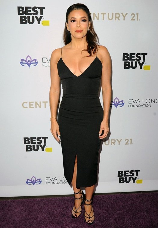 Eva Longoria hosts her foundation's annual gala at Four Seasons Hotel in Beverly Hills on November 16, 2019