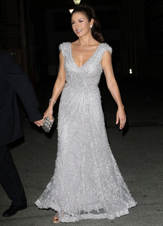 Catherine Zeta Jones at the the 6th Annual A Fine Romance Event on October 15, 2011