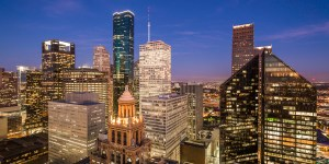 Houston Office Market Overview: Downtown at Night