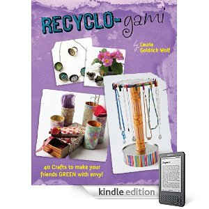 Book Review- RECYCLO-GAMI   by Laurie Goldrich Wolf