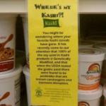 KASHI Brand Pulled Off Green Grocers Shelf, Here Is Why