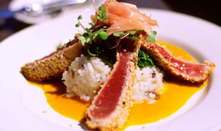 Maui-Style Onion Seared Ahi