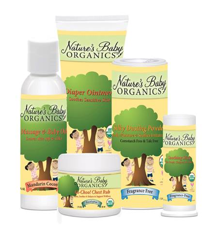 Product Review:  Nature's Baby Organics Body and Hair Products