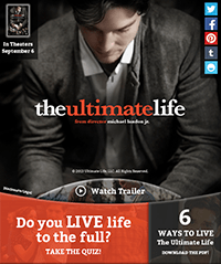 Giveaway for The Ultimate Life. Enter Today!