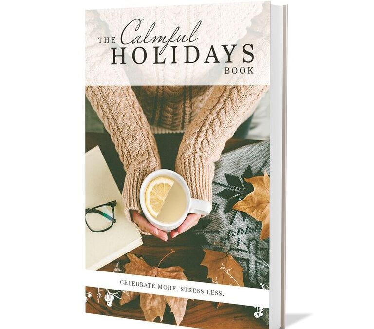 FREE EBOOK The Calmful Holidays And Natural Calm Magnesium Supplement Giveaway