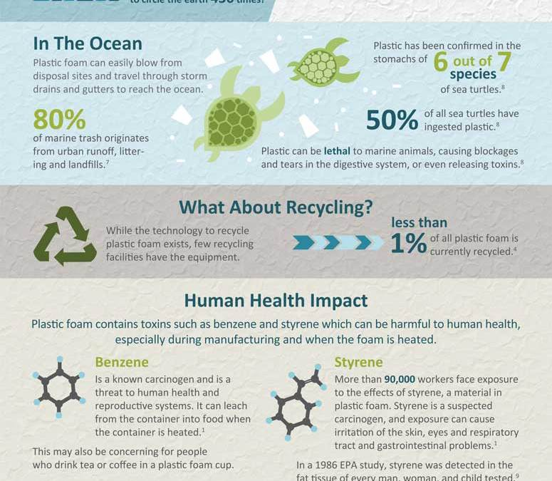The Truth About Styrofoam-  Infographic
