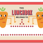 Free Lunch Box Stickers For School