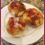 Homemade Pizza Bites Made In a Cupcake Maker