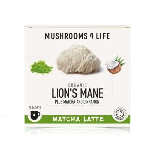 lion's mane matcha Latte