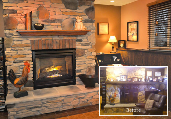 Fireplace Makeover Gallery  The Place