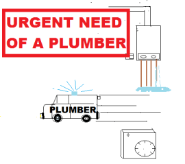 Urgent need of a plumber