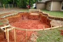 Swimming Pool Construction Timeline Installing